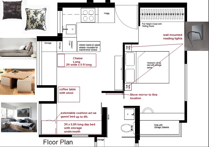 Floor Plan for Furnishings