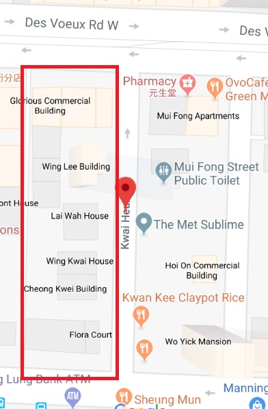 Redevelopment Site In Sai Ying Poon Maps