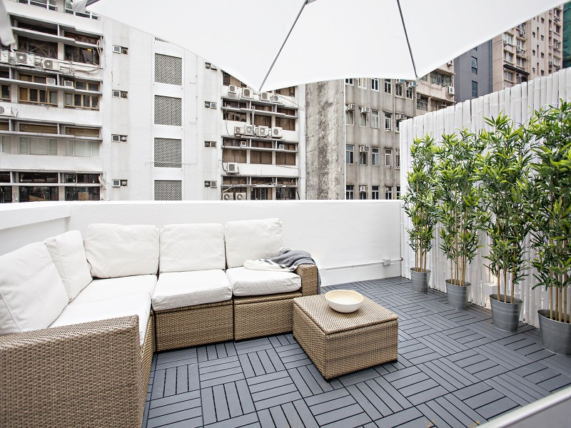 Lounging Area on Rooftop