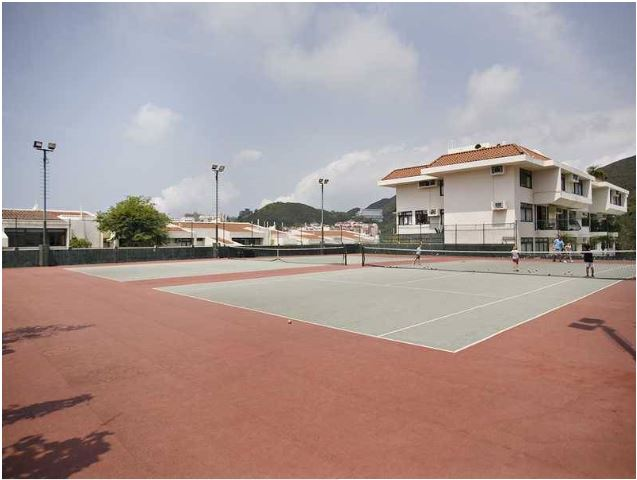 Tennis Courts in Stanley Hong Kong