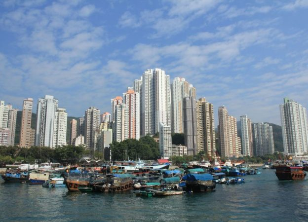 High Rise Buildings In Ap Lei Chau