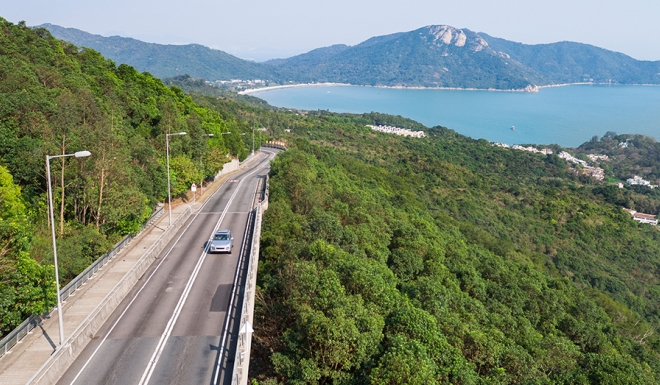 Excellent Road Access to and From Tung Chung to South Lantau  Photo: Courtesy SCMP
