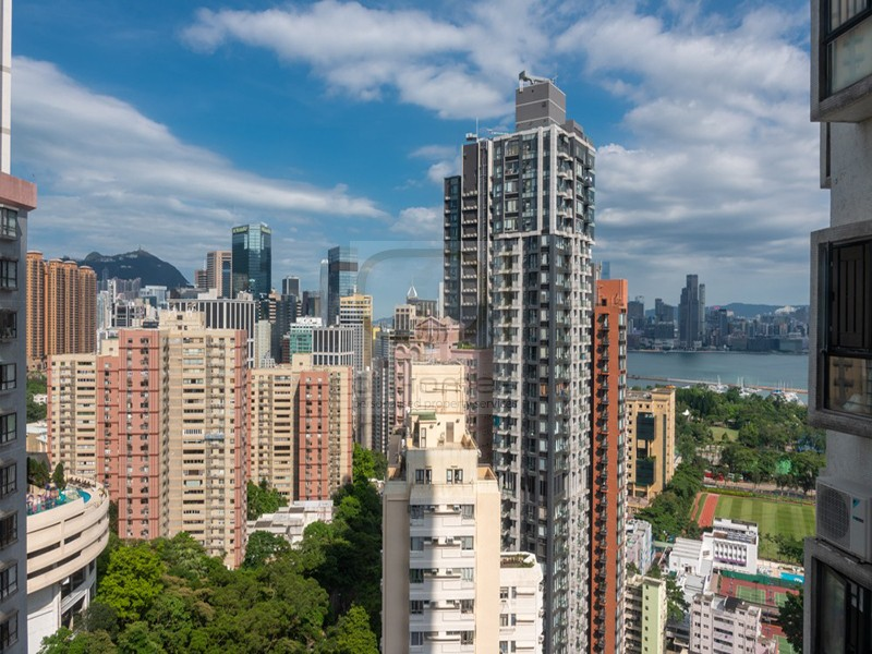 View from a High Rise in Tai Hang